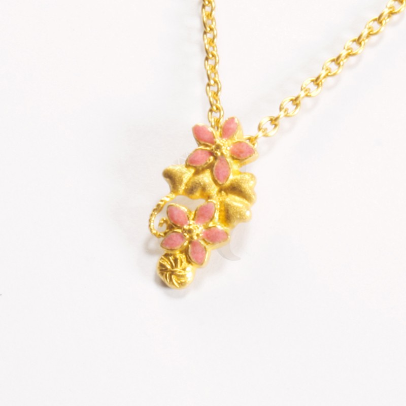 Goldlery 24K Gold 'Little Hoya' Pendant