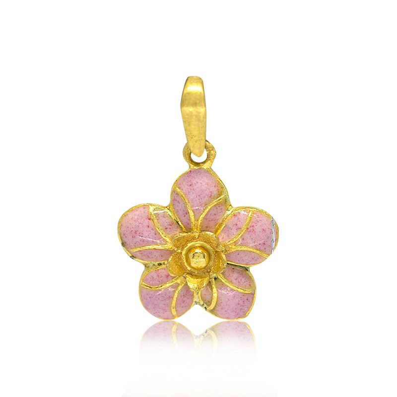 "Goldlery 24K Gold ""Little Sweet"" L007 Pendant"